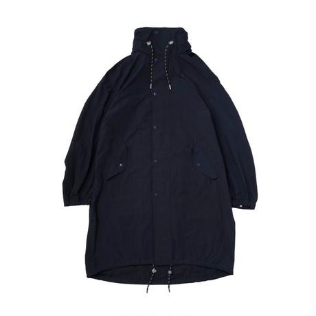 Name. : C/NYLON HOODED OVER COAT
