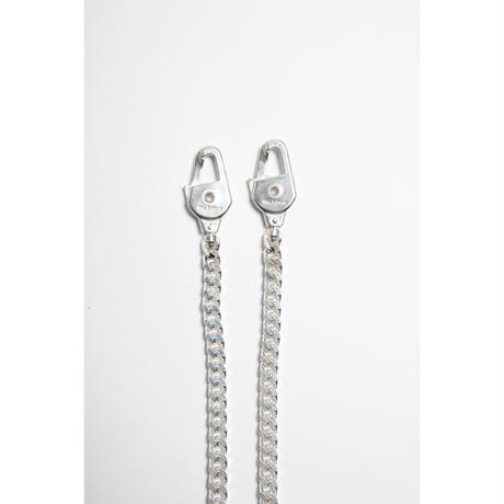 The Letters : W CLIP CHAIN NECKLACE