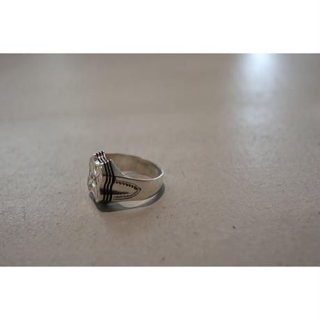 TUAREG JEWELRY :  TUAREG SILVER RING 03