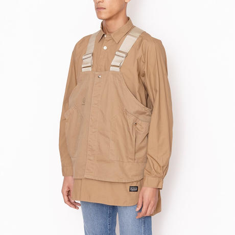 hobo : Cotton Typewriter Gardener Pullover Shirt by nonnative