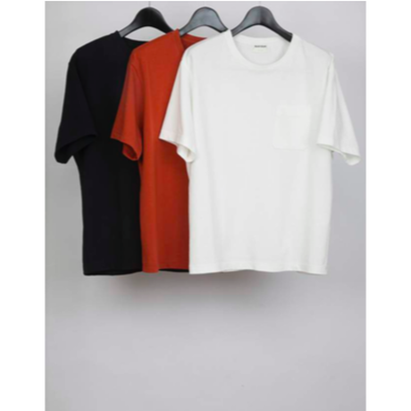 MAINTENANT : HIGH GAUGE JERSEY POCKET T-SHIRT