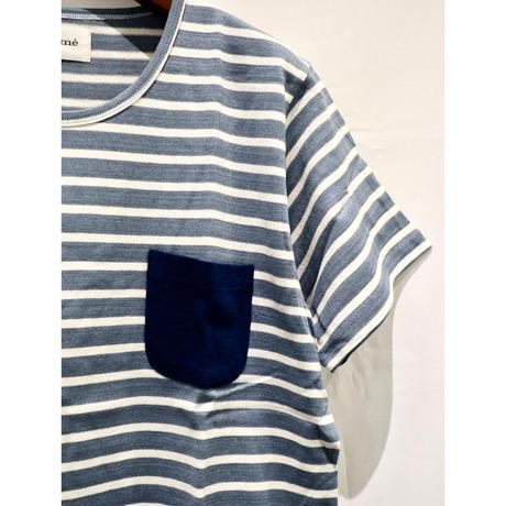 unsome : Border Pocket T-Shirt