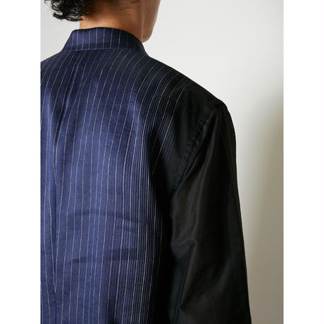 TAAKK : STRIPE LINEN JACKET