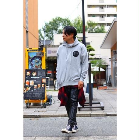 S.i.m × Pen Public : BACK PRINT SIDE ZIP HOODIE