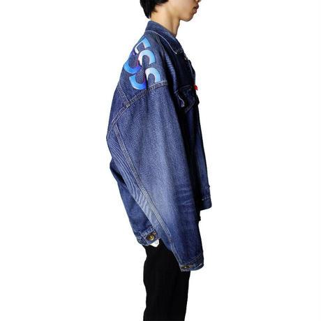 Maison MIHARA YASUHIRO:Front Shoulder Denim Blouson