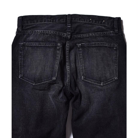 MINEDENIM : Grunge Slim Straight 5pocket