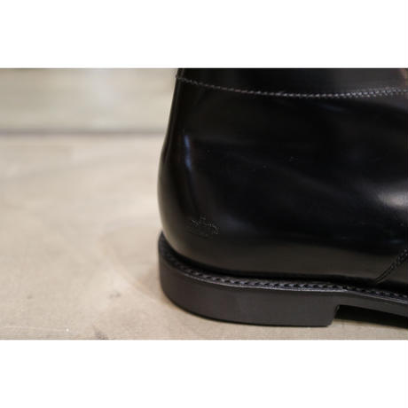 SANDERS : MILITARY APRON DERBY BOOT