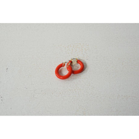 JANE SMITH : COLOR SMALL HOOP EARRING