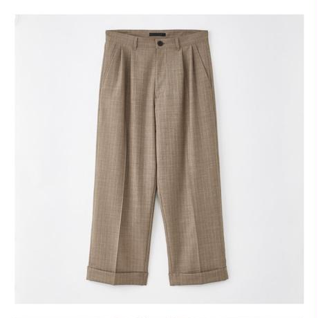 JUHA : STRIPE TAPERED CROPPED PANTS