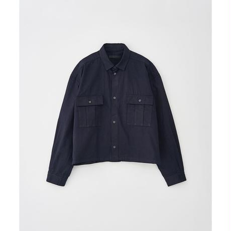 JUHA : DENIM SHORT SHIRT