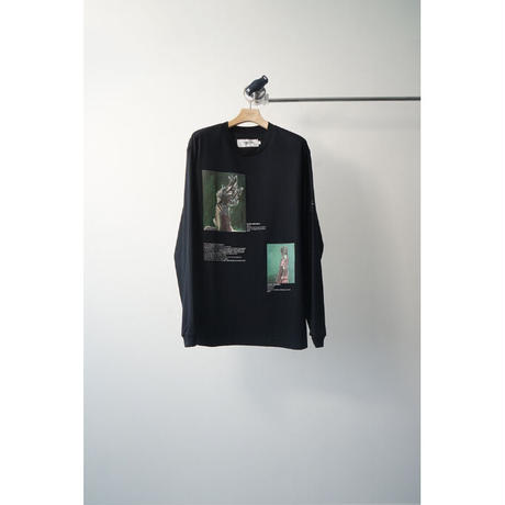 JOHN MASON SMITH: CLOSE & PLAID DRESS LONG SLEEVE T-SHIRT