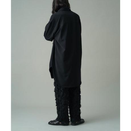 JUHA:MILITARY LONG SHIRT COAT