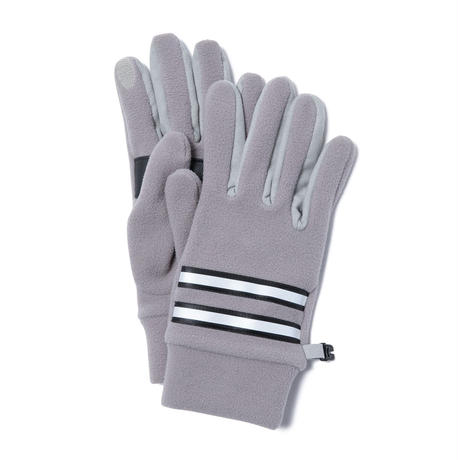 hobo : Fleece Gloves with Cow Leather