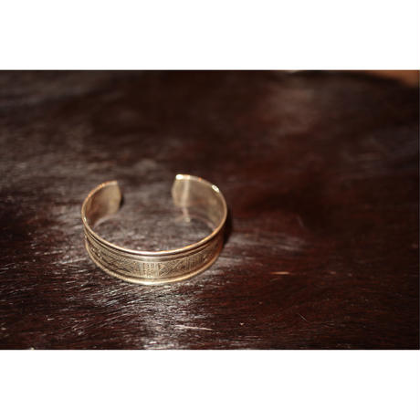 TUAREG JEWERLY : TUAREG SILVER BANGLE 02
