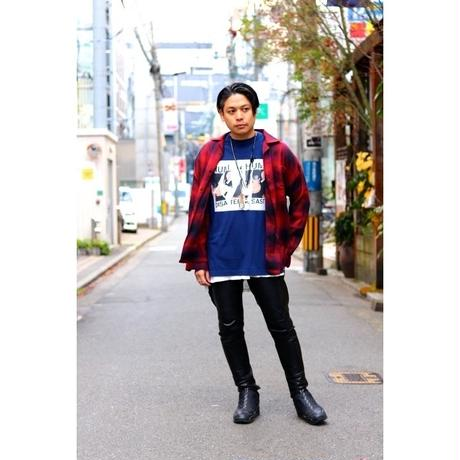 Name. : FRONT PRINT LONG SLEEVE TEE