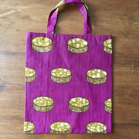 アフリカンプリントバッグS 37・お菓子