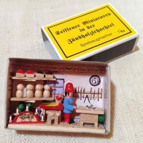 マッチ箱141・おもちゃ工房