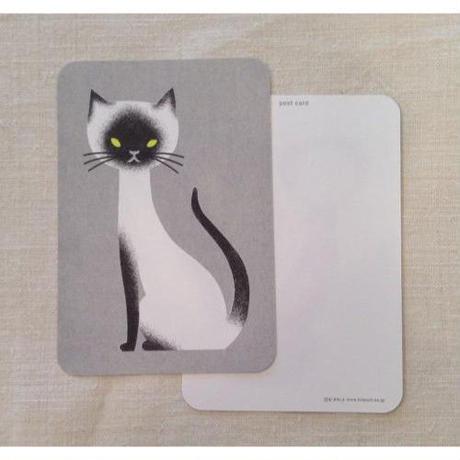 オリジナルポストカード・ネコ・2枚