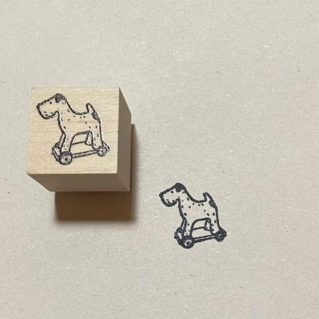 オリジナルスタンプ・犬のおもちゃ
