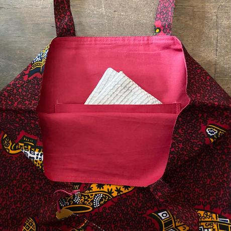 アフリカンプリントバッグ 16 ・VLISCO傘と靴