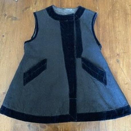 ウクライナの民族衣装・ベスト2(すみ黒)