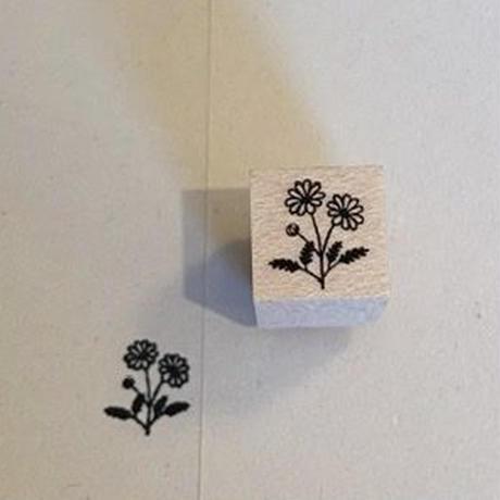 オリジナルスタンプ・お花