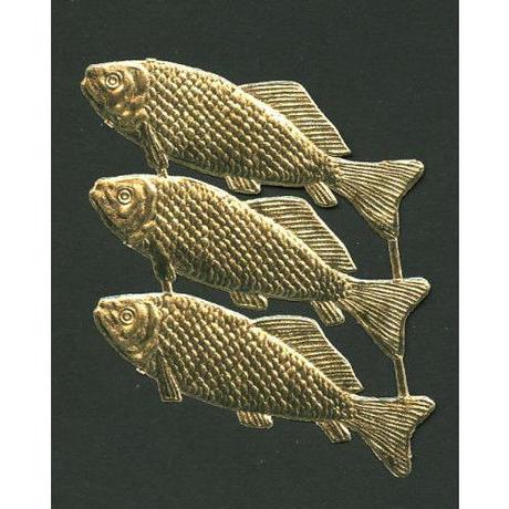 ドレスデントリム・大きな魚ゴールド