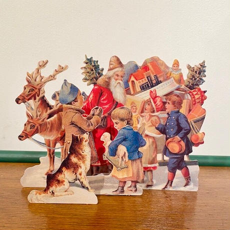 3Dクリスマスカード・トナカイ