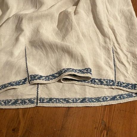 ウクライナ民族衣装15 (ブルー)