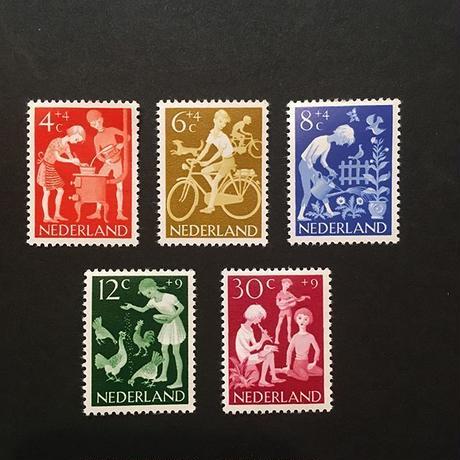 オランダの児童福祉切手'62