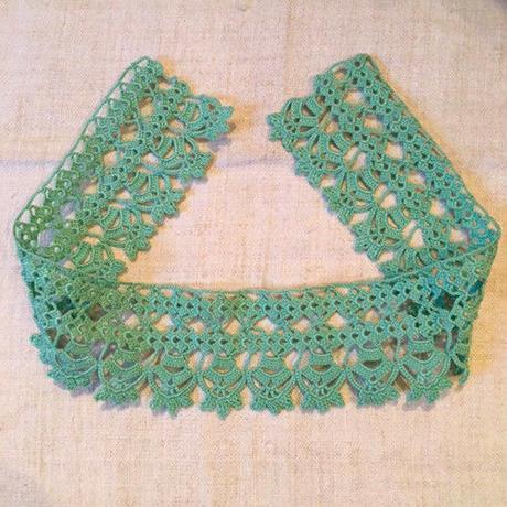 ドイツのおばあちゃんの手編みレース1