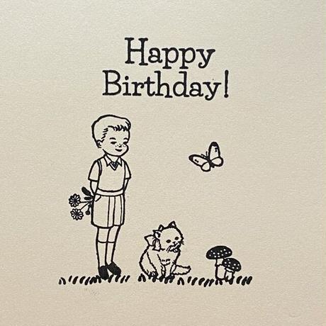 オリジナルスタンプ・Happy Birthday