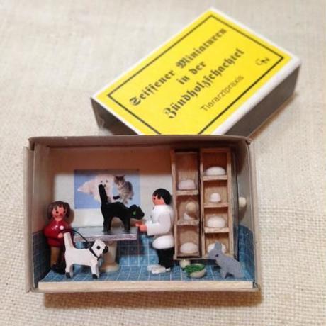 マッチ箱109・どうぶつ病院