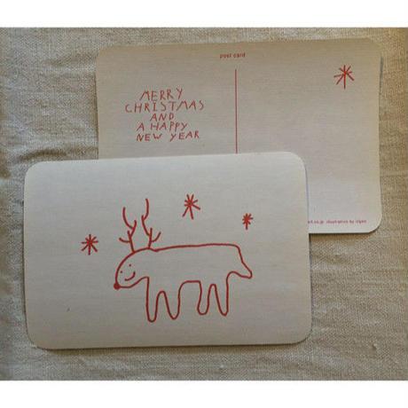 オリジナルポストカード・UGトナカイ・2枚