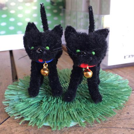 手作りモールキット「2匹の黒ねこ」