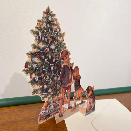 3Dクリスマスカード・クリスマスツリー