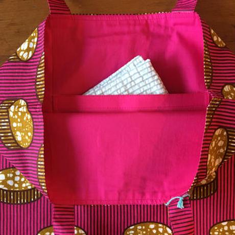 アフリカンプリントバッグ 21・お菓子