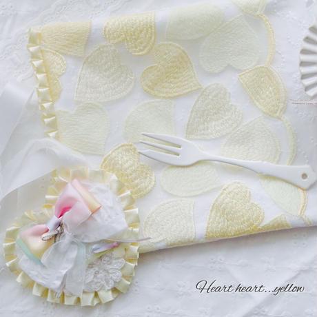 Heart  heartなお食事セット(イエロー)