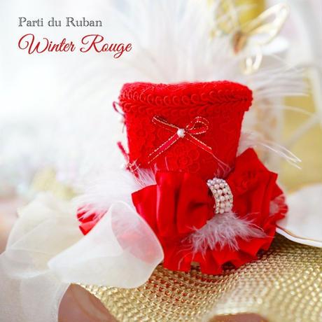 Winter Rouge お帽子