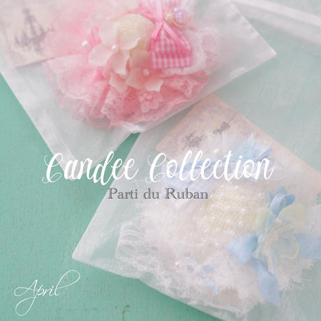 Candee Collection 《4月》レースいっぱいお帽子