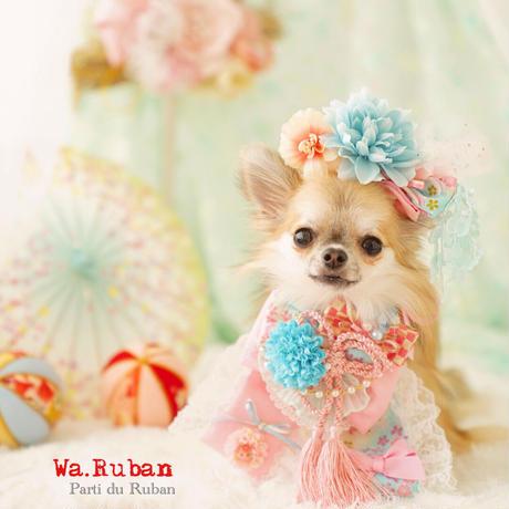 《Wa.Ruban》華 青桃 チョーカー&ヘッドアクセ