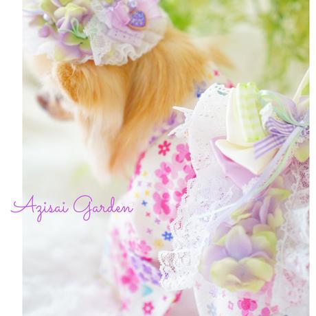 Azisai Garden お帽子&チョーカーセット
