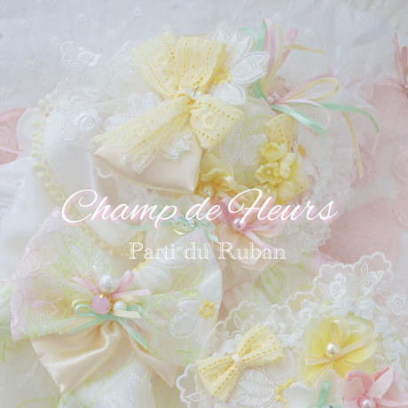 Champ de Fleurs Heart choker