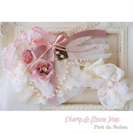 Champ de fleure Rose  チョーカー&ヘアアクセ