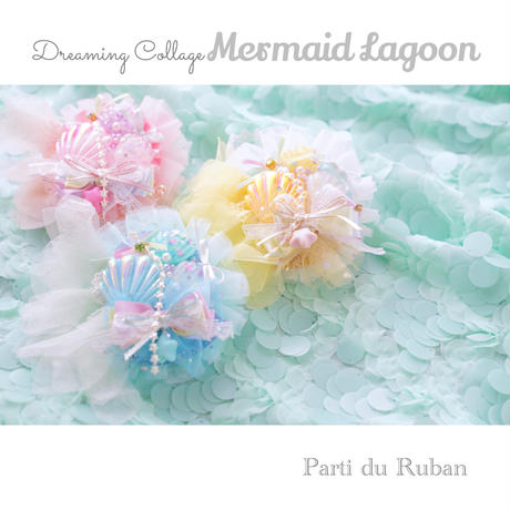 Dreaming Collage  Mermaid lagoon  Yellow*White