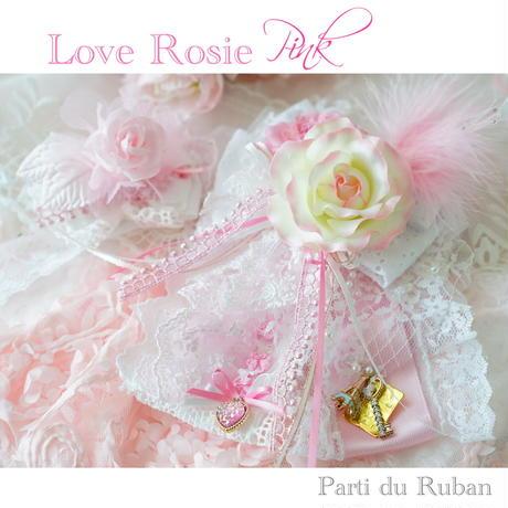 Love Rose チョーカー&ヘアクリップ