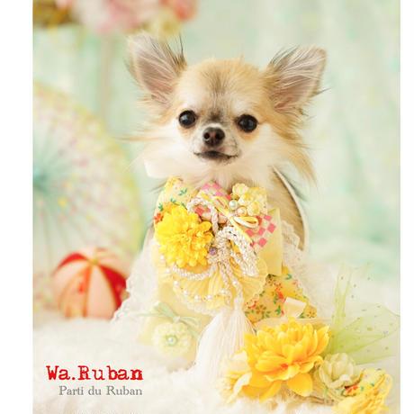 《Wa.Ruban》華 黄 チョーカー&ヘッドアクセ