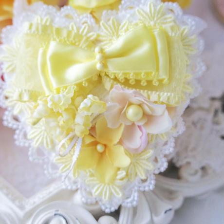 Dreaming  Heart  Daisy Yellow