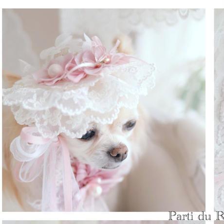 トロワ展限定品 ロマンチックガーデン straw hat