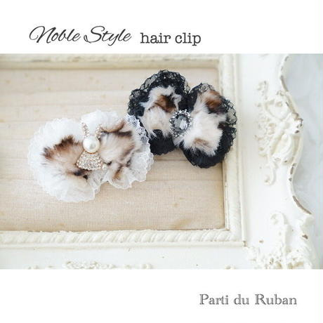 Noble Style tippet&hair clip